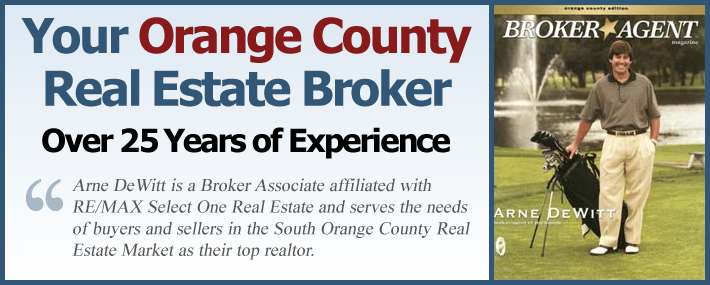 Arne Dewitt - Your Orange County Real Estate Broker